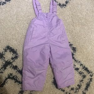 Girls 12 month old snow pants
